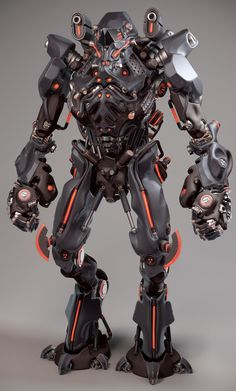 warMac by Tanvir M.N Islam | Robotic/Cyborg | 3D | CGSociety