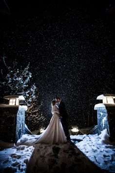 A winter wedding at Nita Lake Lodge is the stuff fairytales are made of! Outdoor Winter Wedding, Winter Wedding Receptions, Snowy Wedding, Winter Wonderland Wedding, Lodge Wedding, Christmas Wedding, Fall Wedding, Wedding Venues, Dream Wedding