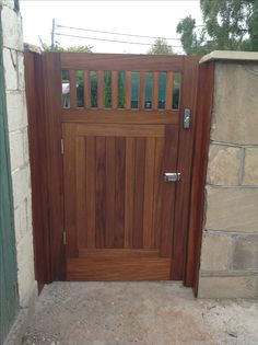 A gate within a gate by Burke joinery in Kildare Ireland