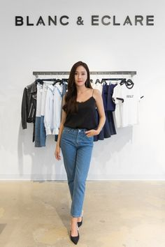 K-Pop Star Jessica Jung on Her Denim Essentials Yoona, Sooyoung, Snsd, Jessica & Krystal, Krystal Jung, Fashion Line, Girl Fashion, Jessie, Blanc And Eclare