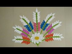 You can always use different rangoli colours for making the rangoli. Create ur own colour combinations. Rangoli Designs Flower, Colorful Rangoli Designs, Beautiful Rangoli Designs, Sanskar Bharti Rangoli Designs, Rangoli Colours, Free Hand Rangoli Design, Simple Rangoli, Colour Combinations, Special Day