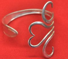 Fork Bracelet - I could see doing this with a piece of grandma's old silver that isn't a complete set