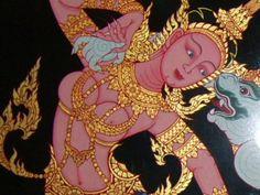 Suvannmaccha Dea Sirena Aurea del Ramakien thailandese