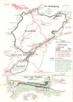 Nürburgring Nord- und Südschleife 1936