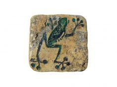 títol: granota arborícola Lloseta de marbre gravada en buit