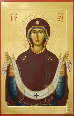 Byzantine Icons, Byzantine Art, Religious Icons, Religious Art, Holy Art, Greek Icons, Church Icon, Sign Of The Cross, Art Terms