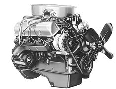 "The ""FE"" didn't change much throughout its service life. This is a 1967 vintage 390-4V engine equipped with an alternator charging system. Note the alternator mount cast into the block for 1965 and later."