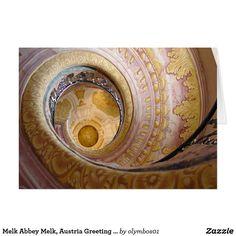 Melk Abbey Melk, Austria Greeting Card