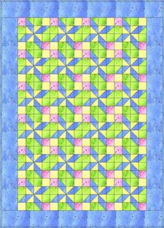 Free Quilt Patterns : Pretty in Pastels Baby Quilt Pattern Free Baby Quilt Patterns, Quilt Block Patterns, Quilt Blocks, Free Pattern, Quilting Tutorials, Quilting Projects, Quilting Designs, Quilting Ideas, Sewing Projects