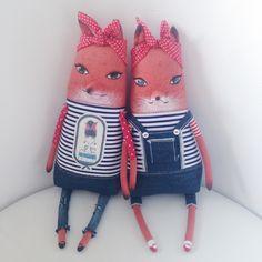 #Лисицы #лиса #лисы #лисички #лисичка #fox #foxy #doll #dolls #artdoll #red #redhead #sea