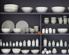 collection tableware and little vases  #celadon