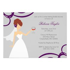 Now it's your turn to pop the big question! Ask your girls to be with you on your special day with Modern bridal party proposal cards from Zazzle! Wedding Shower Invitations, Elegant Invitations, Invites, Brunette Bride, Elegant Bride, Shopping Sites, Maid Of Honor, Our Wedding, Place Card Holders