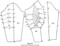 vertical fullness sleeve