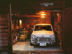 Classic Mini, Classic Cars, Auto Retro, Future Car, Mini Me, Camping Gear, Motorbikes, Vintage Cars, Cool Cars
