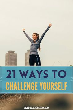 Stop holding yourself back from the things you want to try and do. Read this post and learn the 21 ways to challenge yourself. Behavioral Psychology, Psychology Books, Psychology Facts, Good Character Traits, Character Personality, Building Self Confidence, Building Self Esteem, Personality Types Meyers Briggs, Good Habits For Kids