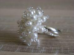 Perličkový prsten