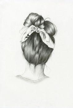 Dessin de tresse cheveux dessins de coiffure pinterest - Comment dessiner une tresse ...