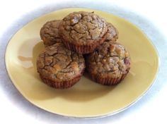 Banana sweetened coconut flour muffins « the PRIME pursuit