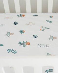 Percale Crib Sheet - Prickle Pots