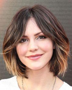 Ombré within a bob haircut I want my hair short again aaah