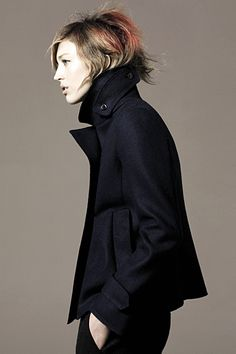 Uniqlo - David Sims - Raquel Zimmermann - - ad campaign with Jil Sander - fashion ads J Collection, Raquel Zimmermann, David Sims, Campaign Fashion, Winter Looks, Jil Sander, Uniqlo, Autumn Winter Fashion, Fall Winter