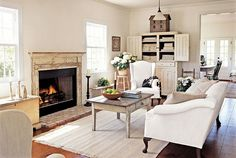 country white living room