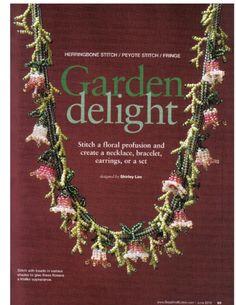 Схемы: Ожерелья. Архив Beads & Button 2007-2010 гг