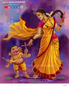 Shri Hanuman, Shri Ganesh, Ganesha Art, Krishna, Saraswati Goddess, Kali Goddess, Lord Durga, Mother Kali, Navratri Images