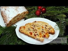 Vianočná štóla - videorecept - YouTube Russian Recipes, Lidl, Banana Bread, French Toast, Cooking Recipes, Breakfast, Sweet, Youtube, Desserts