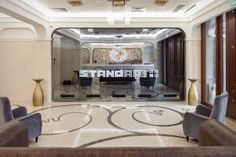 StandArt Hotel Moscow This design hotel is situated in Moscow city centre, a walk from Tverskaya, Pushkinskaya and Chekhovskaya metro stations. Spa and wellness centre with hammam, sauna, plunge pool and massage are featured here.