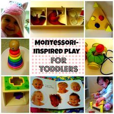 Montessori Inspired activities for 15 months old toddler