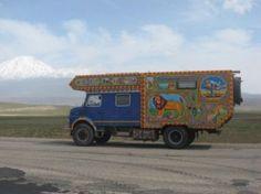 Marktplaats.nl - 4x4 expeditie camper/overland truck v. wereldreis met gezin - Campers   Overige merken
