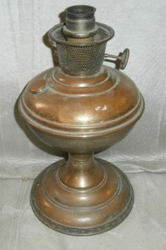 Vintage aladdin oil lamp model no 6 1915 16 parts or restoration the mantle lamp co of america 1915 16 aladdin model no 6 chicago aloadofball Image collections