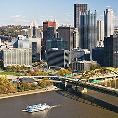 Pittsburgh - Got to take this city in during the 90s, fun times!