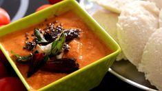 టమాటో చట్నీఇలా చేస్తే ఇడ్లి,దోస,బోండా లోకి అదిరిపోద్ది #Breakfastchutney... Indian Breakfast, Breakfast Items, Chutney, Thai Red Curry, Tasty, Canning, Ethnic Recipes, Food, Essen