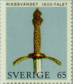 Sello: Crown Regalia (Suecia) (Crown Regalia) Mi:SE 723Do,Sn:SE 899,Yt:SE 702 V1