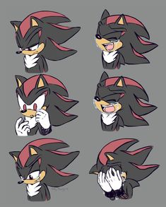 Shadow The Hedgehog, Hedgehog Art, Sonic The Hedgehog, Shadow And Maria, Character Art, Character Design, Sonic Funny, Shadow Pictures, Sonic Fan Characters