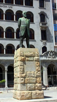 "Statue of Jan Hendrik Hofmeyr [""Onze Jan""], Cape Town African States, Cape Town South Africa, Dream City, My Land, Trains, Scenery, Sculptures, Colour, Statue"