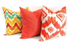 Mix Match Pillow cover.3 Sets of Pillows. by TwistedBobbinDesigns