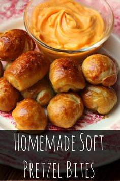 The BEST Pretzels in the WORLD! Done in under 30 minutes - You MUST make this recipe - SO simple to make - Homemade Soft Pretzel Bites Recipe #recipe #bites #cheese #pretzel #homemade Super Easy Recipe #budgetsavvydiva #cheesy via budgetsavvydiva.com