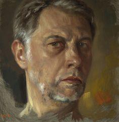 Jean-Christophe Gondouin, Autoportrait, self portrait