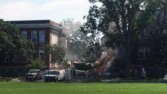 08/02/2017 - Minneapolis school explosion collapses building