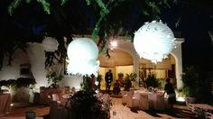 Scene da matrimonio 31.8.2016 Dettaglio lampade di carta decorate
