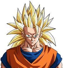 Image result for goku super saiyan 3