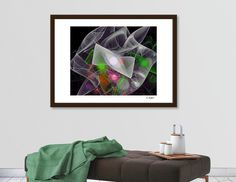 Discover «The  Menagerie Abstract Fine Art print», Exclusive Edition Fine Art Print by Ed Warick - From $25 - Curioos