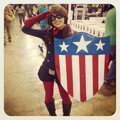 Bucky Barnes cosplayed by AntiAiChan