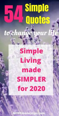 Do you yearn for a simple life? Let these simplicity quotes inspire you to start living simply again and fully savor the simple life you were meant to enjoy. Meaningful Life, Meaningful Quotes, Inspirational Quotes, Emotional Clutter, Simplicity Quotes, Quotes To Live By, Life Quotes, Finance Quotes, Learning To Let Go