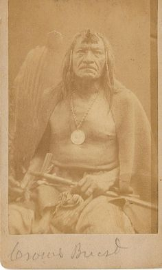 Crow's Breast Hidatsa Chief  Crow's Breast led the Hidatsu in their efforts to exist between the Americans moving into the North Dakota area and the native peoples.He signed the Ft. Berthold treaty in 1860 and generally tried to co-exist . In 1864 he refused to join the Sioux in their war with the whites. The Hidatsa illustrated the intertribal problems on the plains. Diminished in number by small pox and native conflicts, the Hidatsa tended to side with the whites against their traditional…
