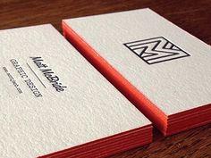 Matt McBride Business Cards   Business Cards   The Design Inspiration