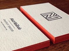 Matt McBride Business Cards | Business Cards | The Design Inspiration